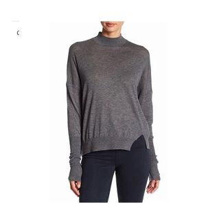 J Brand Mock Neck Knit Pullover Sweater